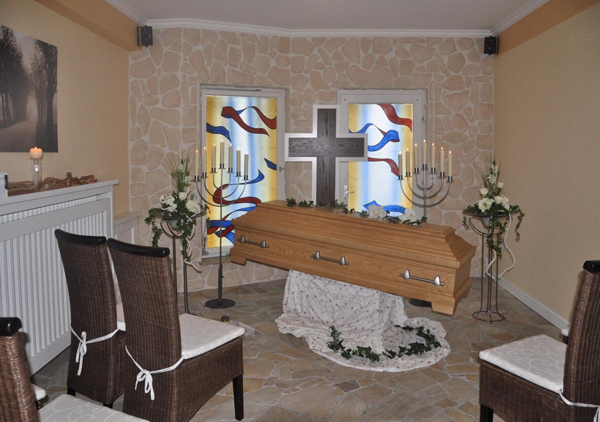 Trauerraum - Berens Bestattungen