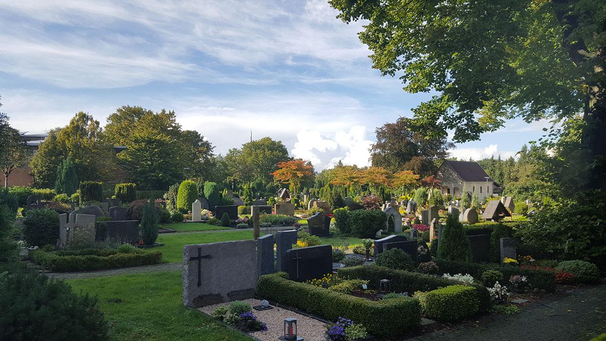 Bestatter Berens Bestattungen Friedhof in Paderborn Elsen