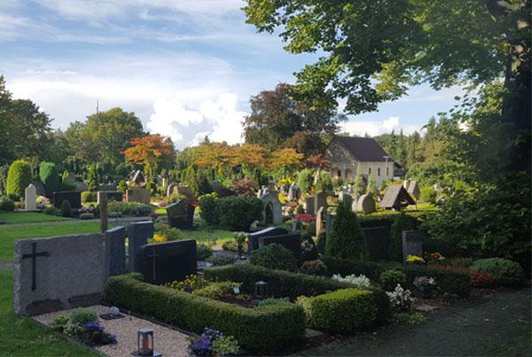 Berens Bestattungen - Friedhof in Elsen, Paderborn